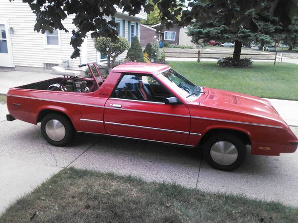 1982 84 Dodge Rampage For Sale Autos Post