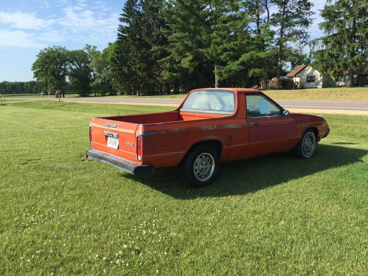 1982 Dodge Rampage Automatic For Sale in Wisconsin Dells ...