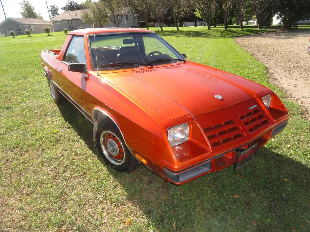 1983 Dodge Rampage Automatic For Sale in Eldora, Iowa