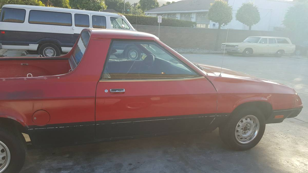 1983 Dodge Rampage Manual For Sale in Thousand Oaks ...