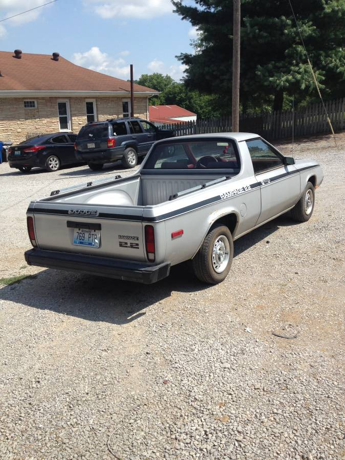 1983 Dodge Rampage Automatic For Sale in Winchester, Kentucky