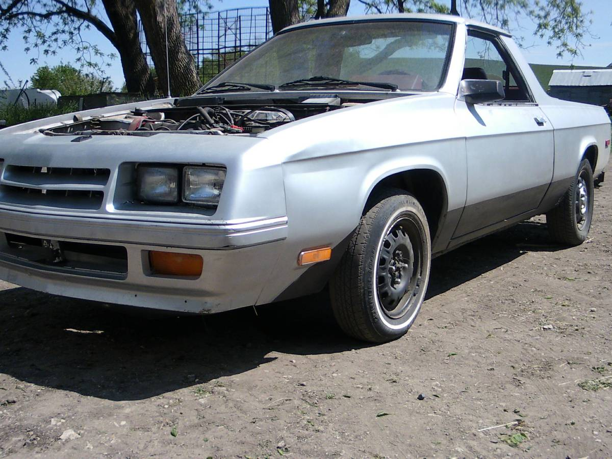 1984 Dodge Rampage Automatic For Sale In Carroll Iowa