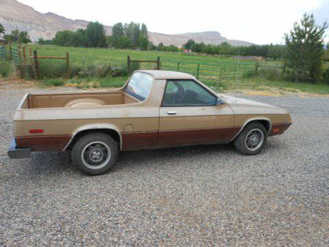 1984 Dodge Rampage V4 Auto For Sale in Barstow, California