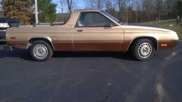 1984 Dodge Rampage Auto For Sale in Brandenburg, Kentucky