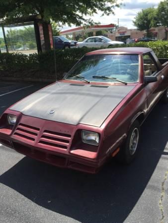 1983 Dodge Rampage V4 Auto For Sale in Lawrenceville, Georgia