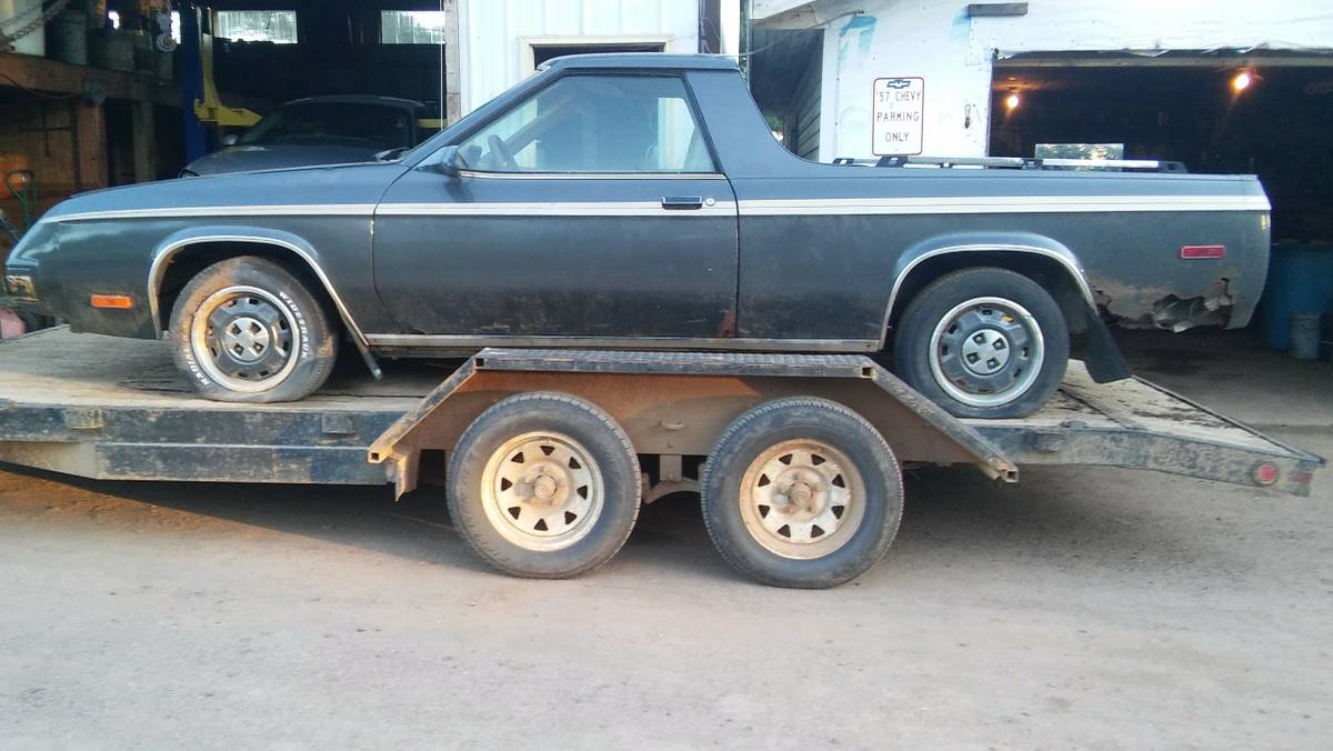1982 Dodge Rampage Automatic For Sale In Athens Wisconsin
