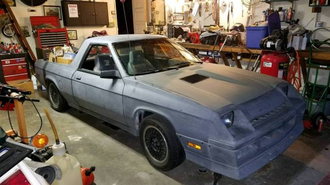 1984 Dodge Rampage Shelby Turbo Conversion For Sale in ...