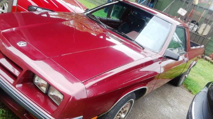 1984 Dodge Rampage 5-Speed Manual For Sale in Eugene, OR
