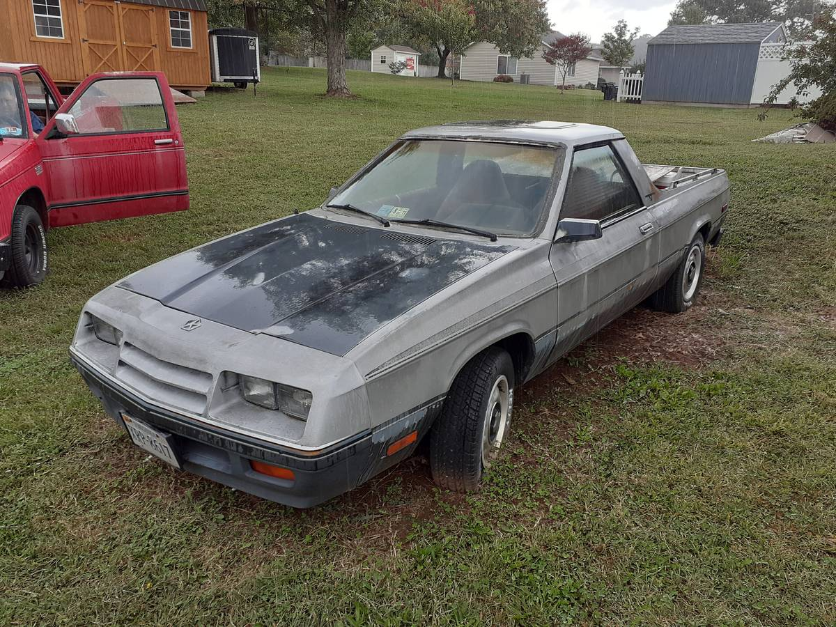 1984 Dodge Rampage 4cyl Automatic For Sale in Salem, VA