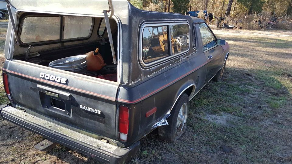 1982 Dodge Rampage Manual For Sale in New Bern, NC