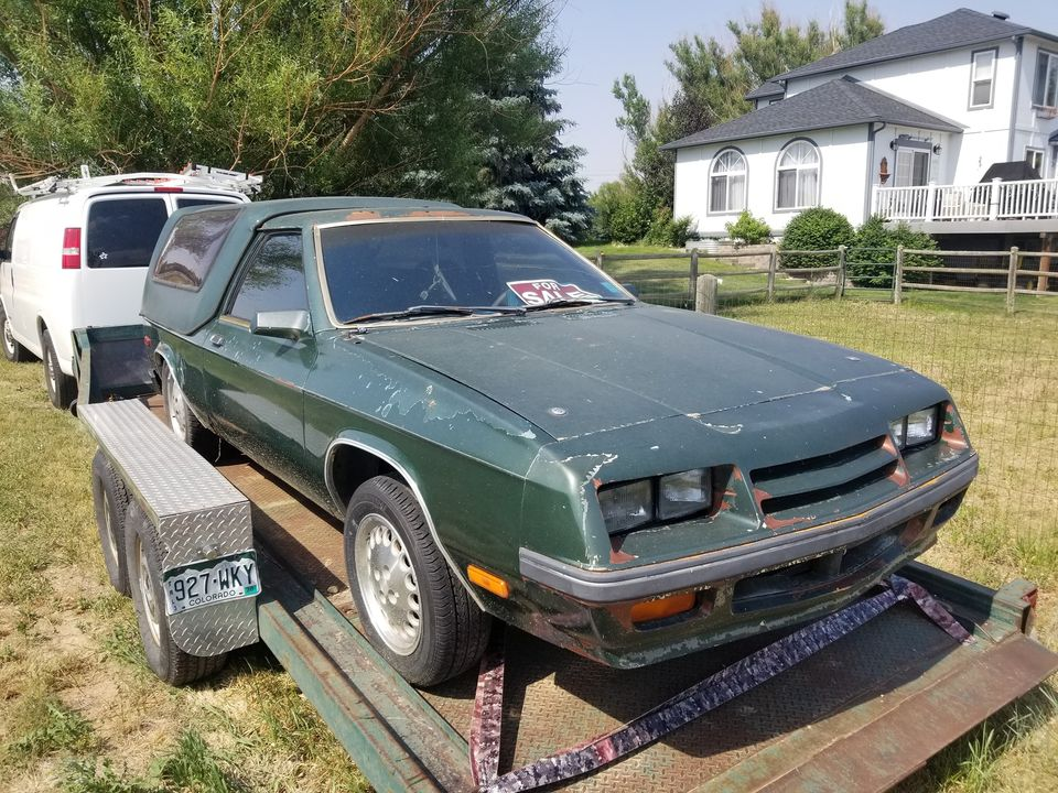 1984 Dodge Rampage 4-Speed Automatic For Sale in Longmont, CO