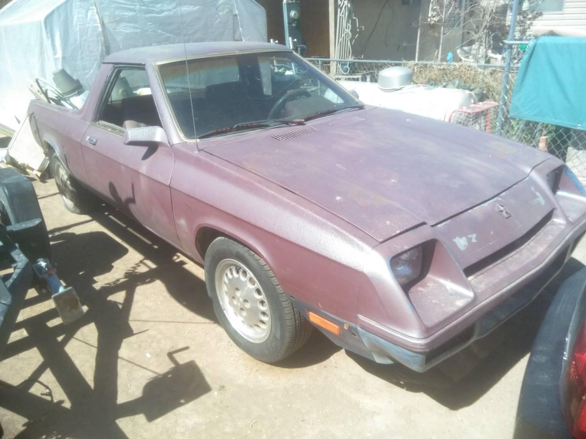 1983 Dodge Rampage For Sale in Mesilla Park, NM